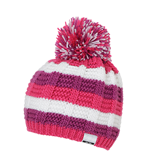 Mix Border Girls' Watch Cap